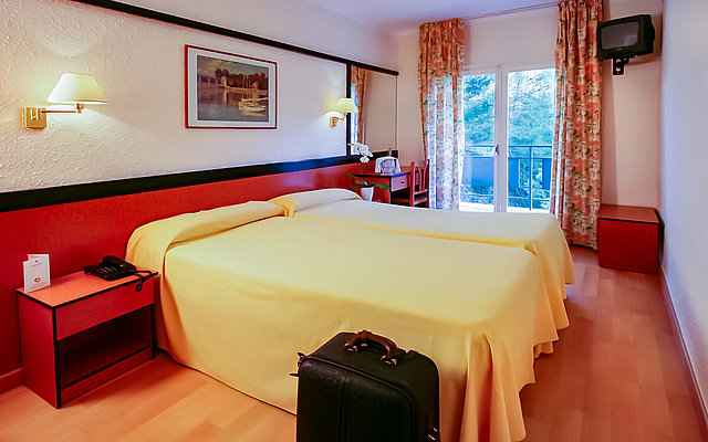 Hotel Guitart Central Park Resort Lloret de Mar Zimmer